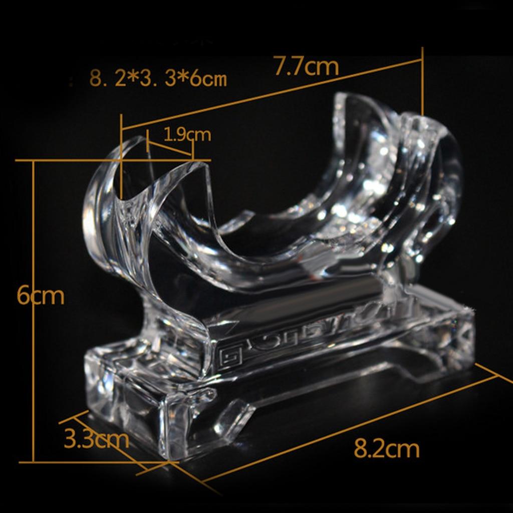 Semicircle Acrylic Bracelet Wristband Display Stand Holder Show Case W/ Base