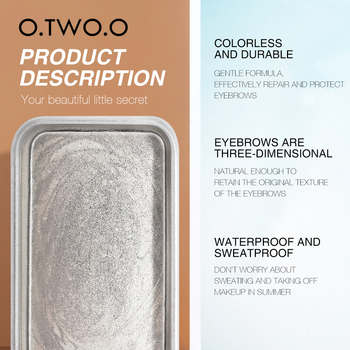 O.TWO.O Eyebrow Soap Wax With Trimmer 8