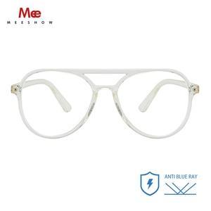 Image 1 - Meeshow TR90 Anti blue Light Glasses frame men women computer eyeglasses blue blocking oversize glasses goggles spectacle frame