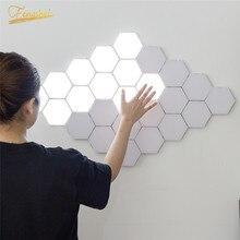 Modern LED Night Light Quantum Lamp Modular Touch Light Touch Sensitive Lighting LED Night Light Magnetic DIY Indoor Decoration
