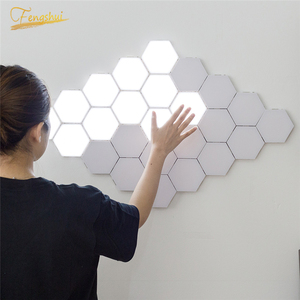 Quantum Lamp Modern LED Night Lights Modular Touch Light Touch Sensitive Lighting LED Night Light Magnetic DIY Indoor Decoration(China)