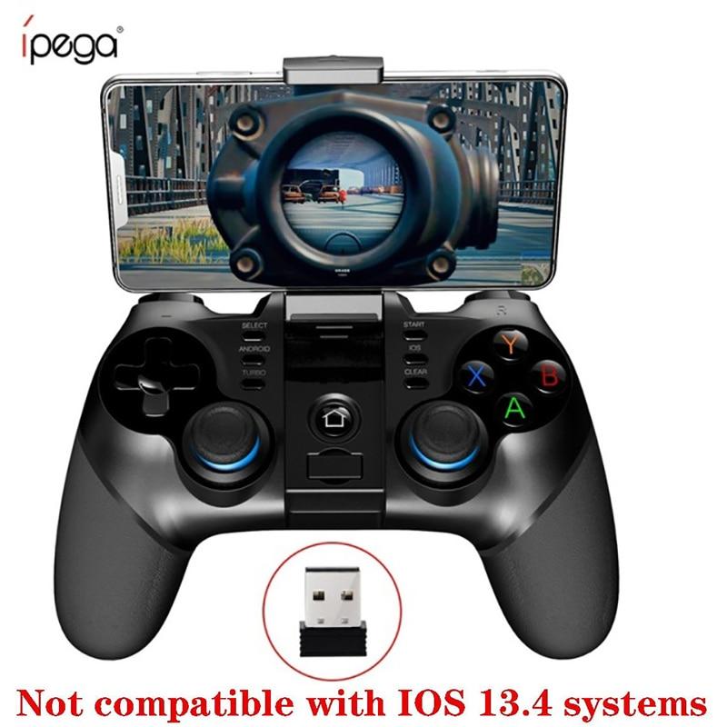IPega 9156 9157 Bluetooth Gamepad desteği iPhone denetleyici esnek Joystick telefon tutucu ile Android iOS PC için TV kutusu