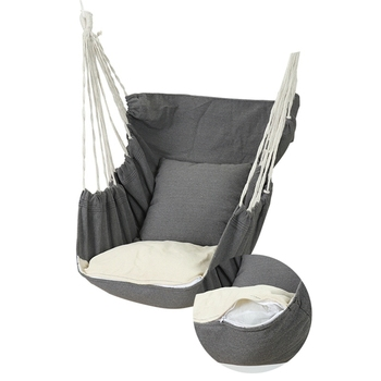 180kg Hammock Garden Hang Lazy Chair Swinging Indoor Outdoor Furniture Hanging Rope Chair Swing Chair Seat bed Travel Camping cotton rope garden swing chair thicken portable hammock with foot pad wooden indoor outdoor swing relax camping hang chair seat