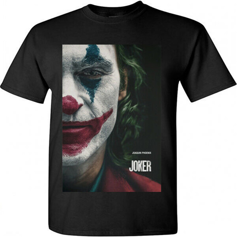 Joker Joaquin Phoenix Posters T-Shirt Movie 2019 Black T-Shirt Size S M L Xl 2Xl 28Th 30Th 40Th 50Th Birthday Tee Shirt