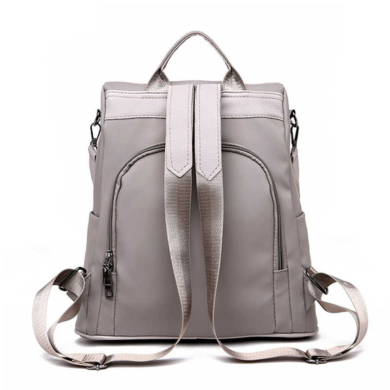 Imperméable à l'eau décontracté femmes sac à dos sac à main Anti-vol sac à dos Mochila Hairball léger sac à bandoulière scolaire pour les filles adolescentes