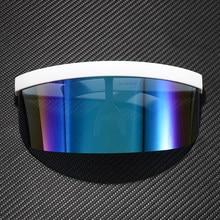 Jackjad 2021 máscara de grandes dimensões forma escudo estilo óculos de sol proteção esporte futuro moda marca design óculos sol oculos de sol
