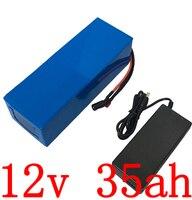 Batería de 12v 350W 12v 35ah batería de bicicleta eléctrica 12V 35AH Paquete de batería de litio con 30A BMS + cargador de 12 6 V 5A libre de impuestos