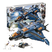 Marvel Avenger Compatible With 76126 Ultimate Quinjet Super Heroes Building Blocks 932 Piece Bricks Children Toy Birthday Gifts lepin star assembling wars building blocks marvel toy compatible with 10467 educational birthday christmas gifts