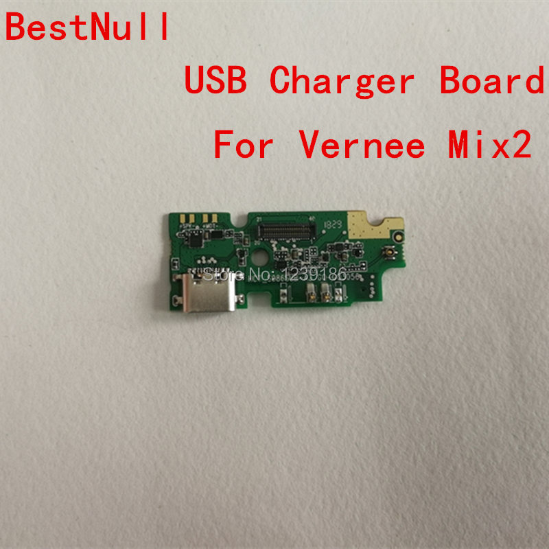 BestNull For Vernee Mix2 Original USB Plug Charge Board USB Charger Plug Board Module With Microphone Repair Parts