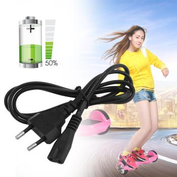 Professional Use Balance Car Charger Adapter Cable Self Balancing Balance Car Smart Electric Scooter Power Cable Black image