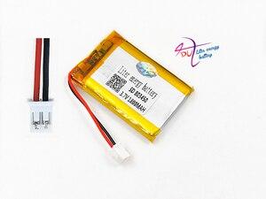 Image 3 - JST PH 2.0mm 2pin 3.7V Lithium Polymer 1800mAh LiPo Pin Sạc với cổng kết nối Cho MP3 DVD MIẾNG LÓT camera GPS Laptop 803450