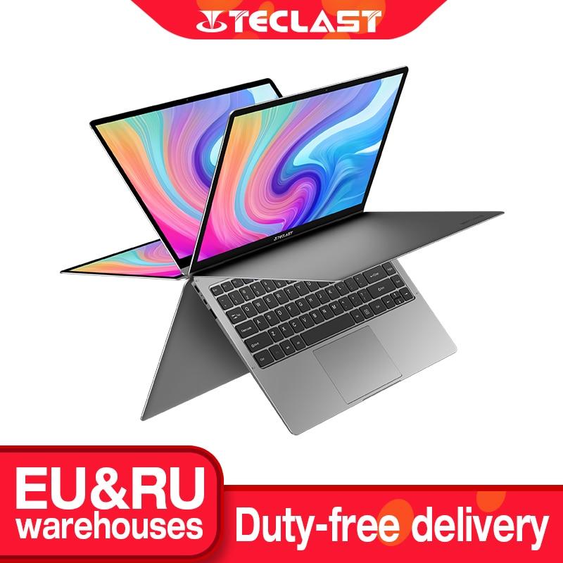 Teclast Newest Laptops F6 Plus 13.3 inch Notebook Gemini Lake 8GB LPDDR4 256GB SSD Windows 10 Laptop 360° Rotation Touch Tablet-0