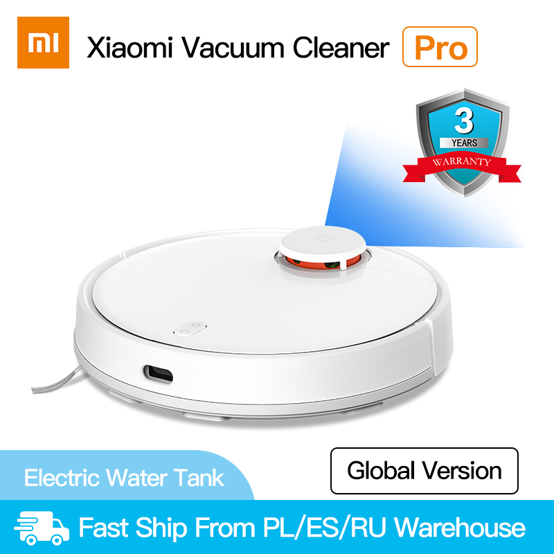 Xiaomi Vacuum-Cleaner Carpet Dust-Robotic Electric Mop MIJIA Home Wireless Collector