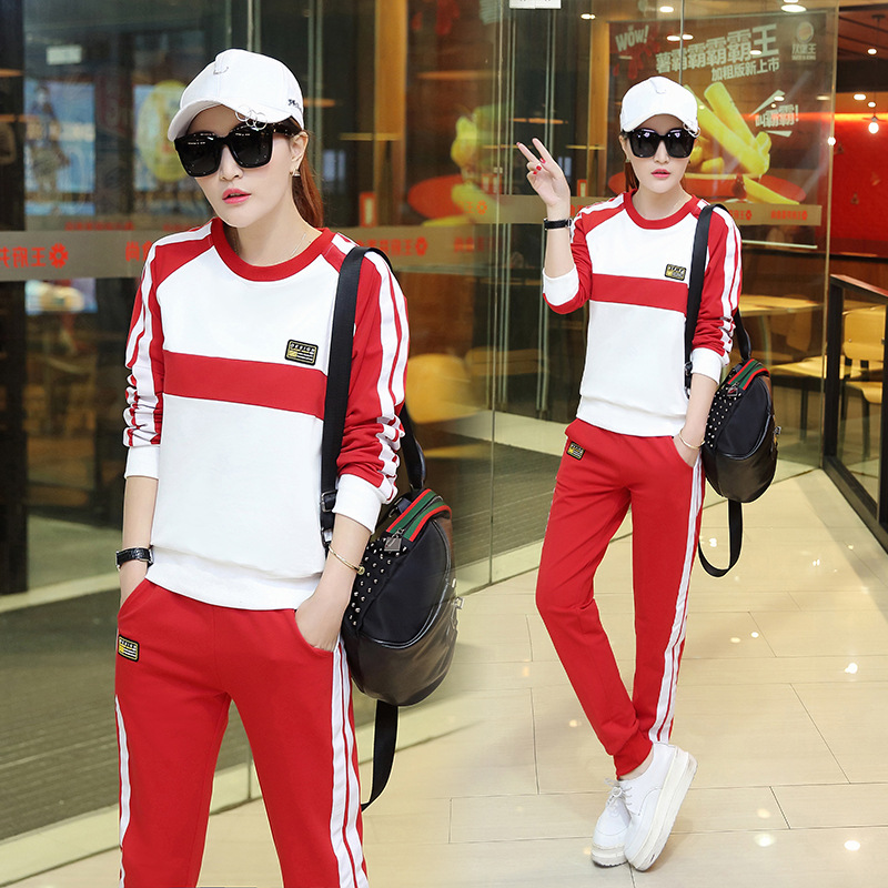 New Style Spring And Autumn Leisure Sports Suit