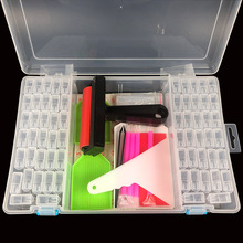 New Portable Diamond Painting Storage Containers box Accessories tools for diamond embroidery