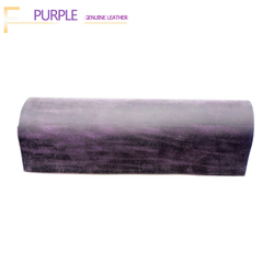 Genuine Leather 2.0 mm New crazy horse leather cow skin first layer material leather craft DIY Purple color