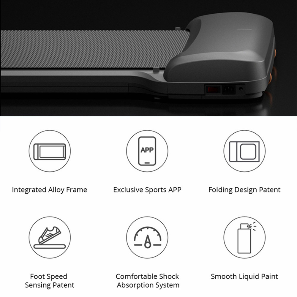En STOCK WalkingPad C1 Fitness marche Machine pliable équipement de gymnastique électrique App contrôle - 5
