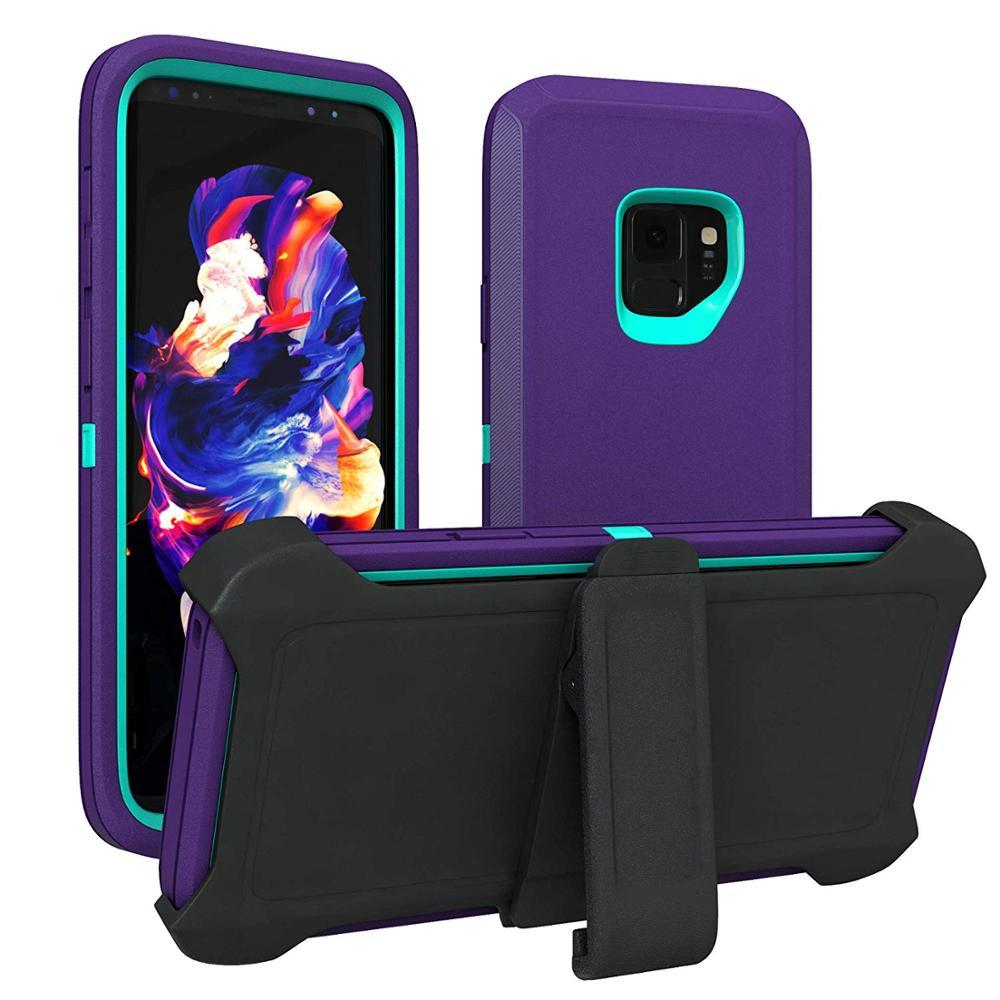 Armor Series Shock Proof Aqua Case For Samsung Galaxy S8 S9 S10 S20 Plus S6 S7 Edge S10E Note 10 8 9 Cover Defend Case Belt Clip
