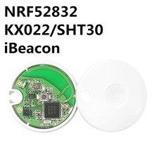 Nrf52832 módulo beacon anti perda, posicionamento por bluetooth, dispositivo de beacon com sensor nfc