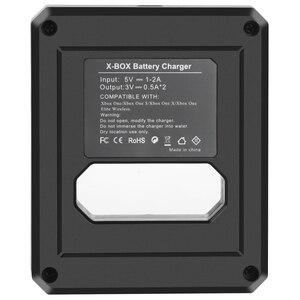 Image 4 - 2 stücke 2600mAh Batterie für Xbox One / Xbox One S/Xbox One X/Xbox Serie X/S Elite Wireless Controller Gamepads + LCD USB Ladegerät