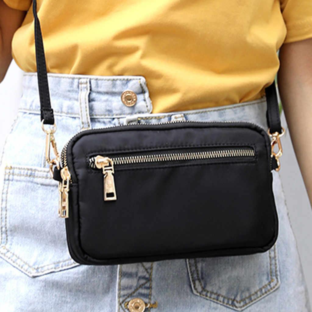Новинка 2017, повседневные женские сумки на плечо, водонепроницаемые нейлоновые женские сумки, сумки-мессенджеры для девочек, маленькие сумки через плечо, женские мини-сумки, хит продаж #8