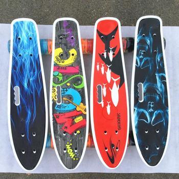 59x 15x 9.5CM Professional Skateboard Longboard Drift Skateboard Childern Skateboard Elastic Board Skateboards And Accessories
