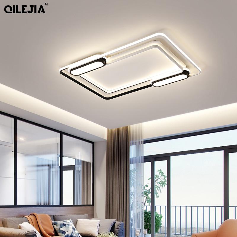 Modern Lamps Luster De Plafond Ceiling Lights For Living Room Moderne Dimmable Acrylic Modern Ceiling Lamps LED Lamp For Bedroom