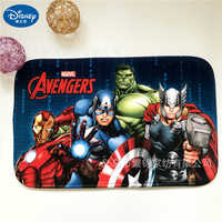 Disney Cartoon Avengers Spider-man Mouse Door Mat Kids Boys Girls Game Mat Bedroom Kitchen Carpet Indoor Bathroom Mat