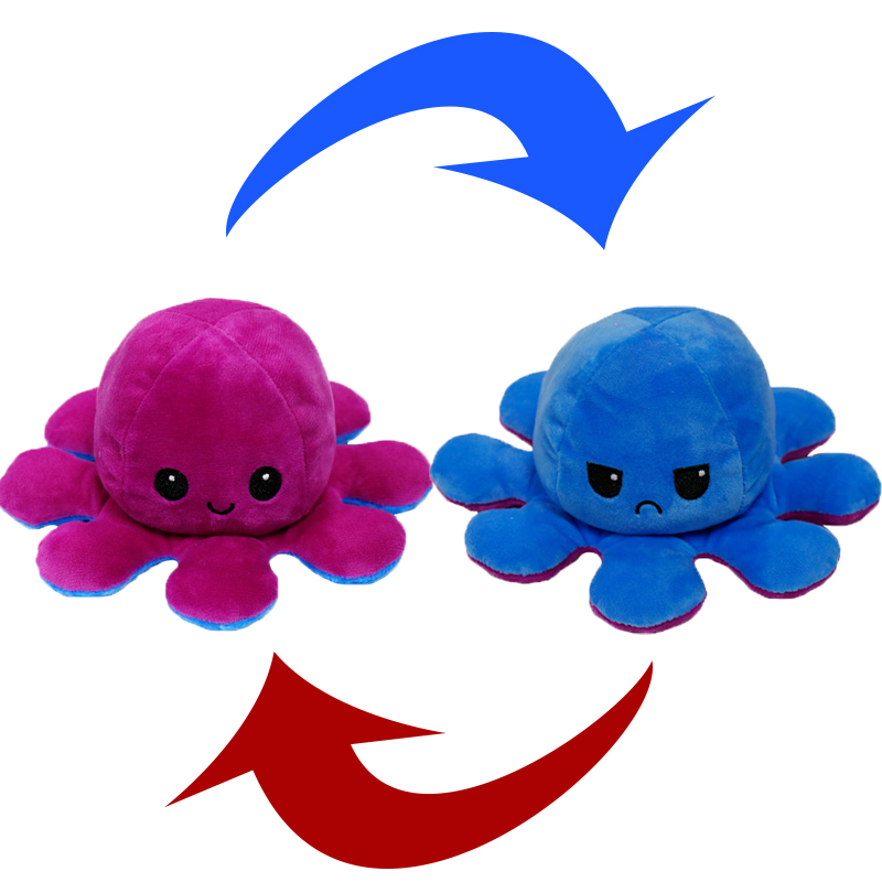 Reversible Octopus Stuffed Toy30