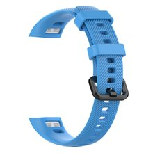 Silicone Replacement Wristwatch Band Bracelet Strap for Huawei Honor 4 Smart Watch Wrist Band Strap for Honor 4 Smart Bracelet