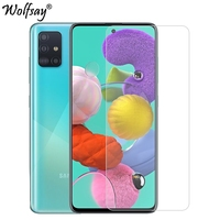 screen film For Samsung Galaxy A71 Glass For Samsung A71 51 70 50 30 20S Screen Protector Tempered Glass Phone Film For Samsung Galaxy A71 < (1)
