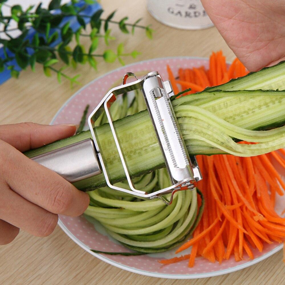 Simple creativo multifuncional pelador de verduras de acero inoxidable doble cepillador cuchillo de cocina accesorios herramientas de cocina YHJ121701 Red de malla de pájaro de jardín para proteger las semillas vegetales plantas de Frutas blandas reutilizables malla de fruta Anti Red de aves