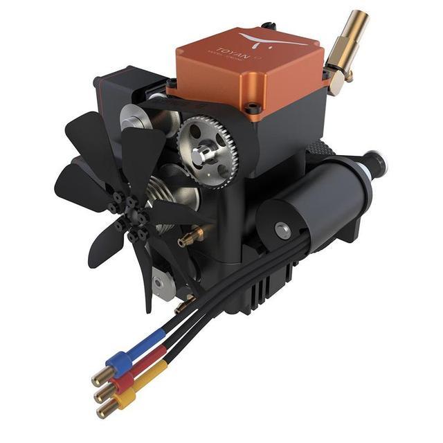 Toyan FS S100G moteur à essence à quatre temps, moteur RC, pour bateau, avion