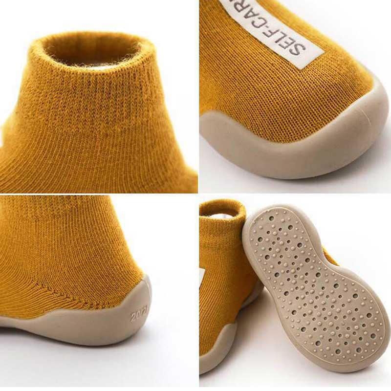 Baby Boy Sock Shoes For Kids Socks Toddler Newborn Boys Short Infant Non-slip Slippers Children's Girl Warm Protector Kid Winter 5