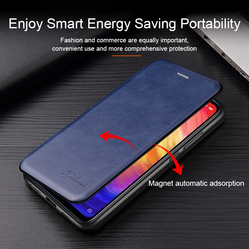 Leather Flip Case For Samsung Galaxy a10 a20 a30 a40 a50 a70 s8 s9 s10 note 10 plus s20 3
