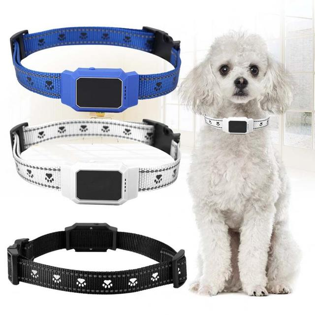 Mini Pet Waterproof GPS Dog Real-time Tracking Collar Security Finder Locator Puppy Small Dogs