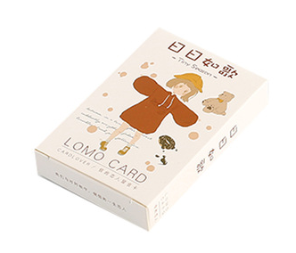 Sing Everyday Paper Greeting Card Lomo Card(1pack=28pieces)