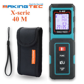 MAKINGTEC Laser Distance Meter Laser Rangefinder 40M 60M100M Digital Measure Tape Electronic Roulette Trena Metro Measuring Tape makingtec laser meter laser distance meter 40m60m laser rangefinder laser measure digital measuring tape range finder roulette