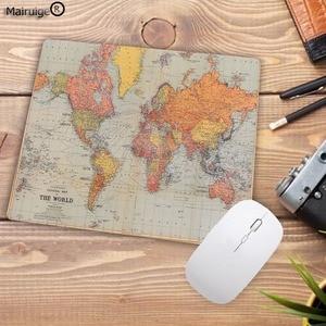 Image 4 - Большой рекламный компьютерный коврик для мыши Mairuige небольшого размера x 2 мм, печатные карты мира, компьютерный коврик для мыши, Гладкий Мягкий Противоскользящий