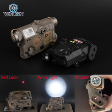 WADSN страйкбол LA-5 PEQ 15 Red Dot Lazer IR лазерный светодиодный тактический светильник UHP внешний вид Softair LA 5C PEQ-15 оружейный светильник WEX396 оружие