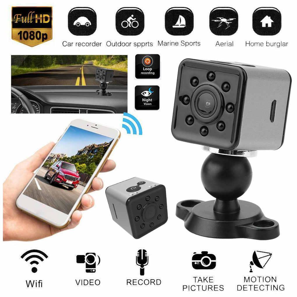 HD Mini Camera,Portable Mini 1080P 30FPS 16:9 HD Mini Camera,Mobile Phone APP Control WiFi Video Recorder IP Cameras Night Vision Large Wide Angle Cameras