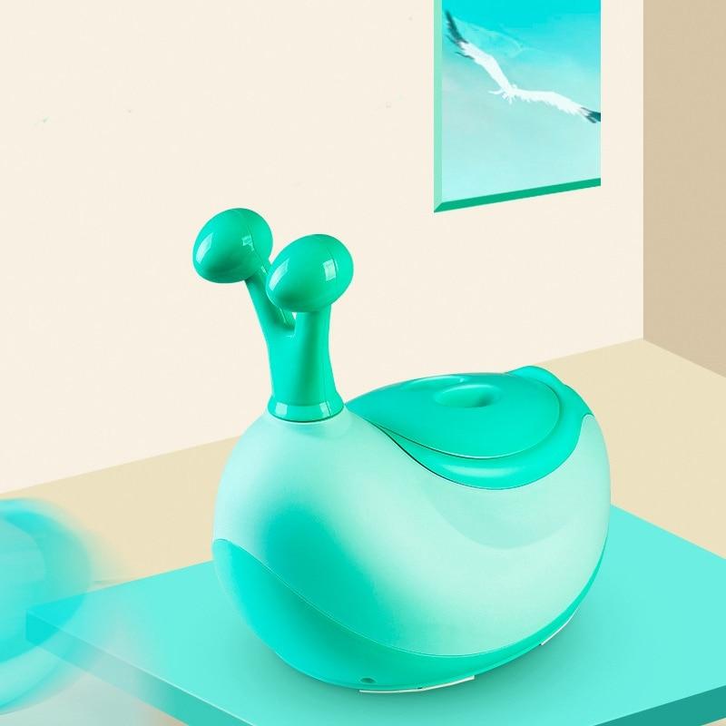 Portable Potty Baby Toilet Seat Pot Bowl Cute Children's Pot Kids Pp Training Pants Boy Girls Comfortable Backrest Toilet Pot