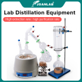 JOANLAB Official Store Lab Short Path Distillation Glass Apparatus With Magnetic Stirring And Heating Mantle And Cold trap 2L 5L