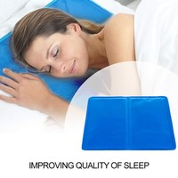 2pcs/set Cooling Gel Pillows Concise Eco friendly Cooling Gel Pillows Practical Comfortable improve Quality of Sleep HF