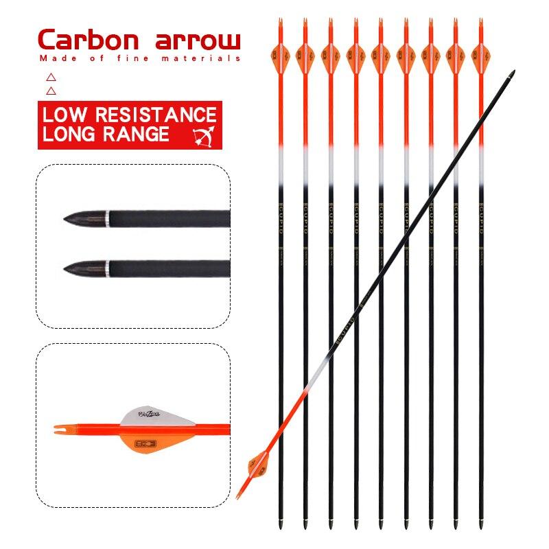 """6//12//24Pcs 33/"""" Archery Fiberglass Arrows Replacable Tip Reccurve Bow CompoundBow"""