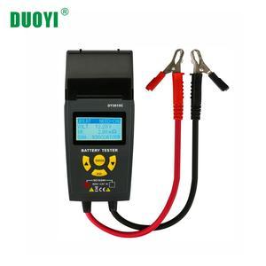 DUOYI DY3015C 12V24V цифровой многофункциональный автомобильный тестер батареи Автомобильный анализатор батареи диагностический многоязычный с п...