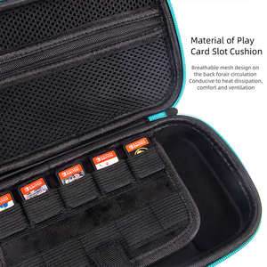 Image 5 - Viaggi Mini Sacchetto Duro Eva per Nintend Interruttore Lite Carry Portatile NS di Vetro Del Sacchetto di Protezione Custodia In Silicone per Nintend Interruttore lite
