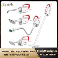 2019 nowy Deerma ZQ610 odkurzacz parowy elektryczny ręczny Mop parowy do czyszczenia podłóg 5 załączników do czyszczenia odkurzacza