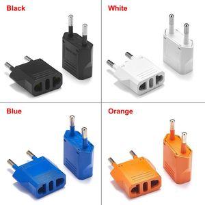 Image 1 - 10 sztuk z nami, aby adapter wtyczki EU Euro europejska ue podróżna wtyczka adapter konwerter elektryczny ładowarka sieciowa gniazda