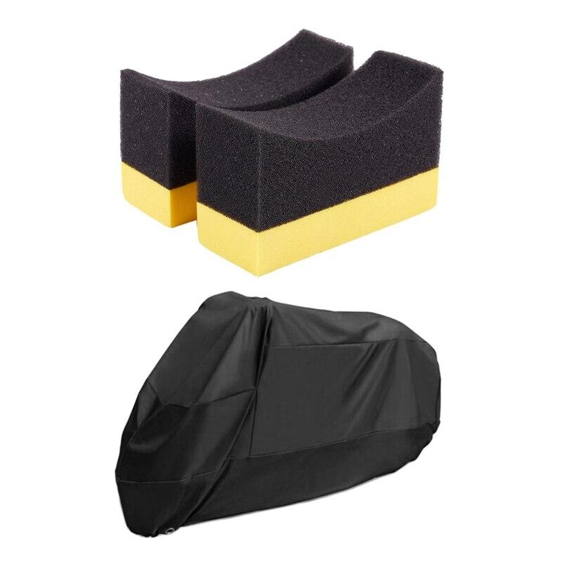 2x rodas de automoveis contornadas escova esponja 01